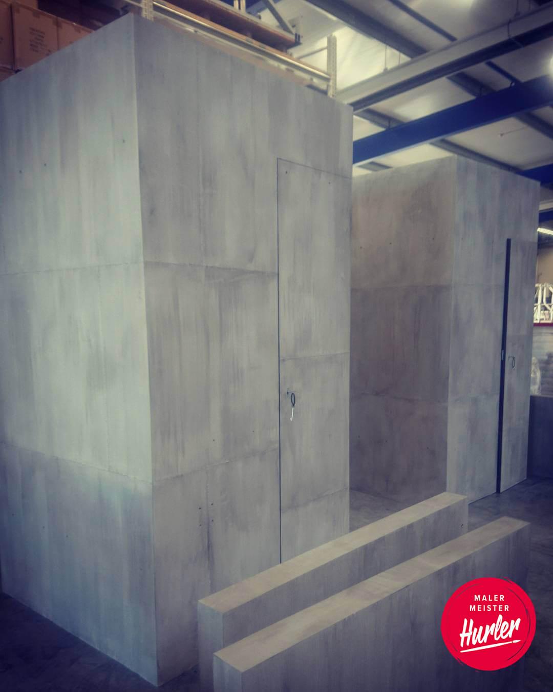 betonoptik industrial style