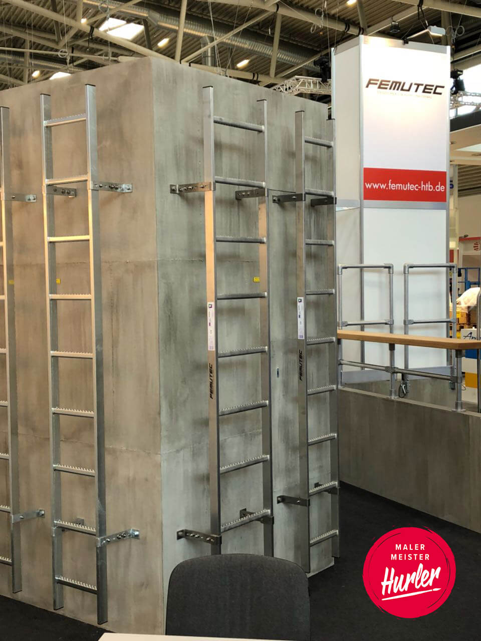 wand betonoptik steigtechnik günzburg